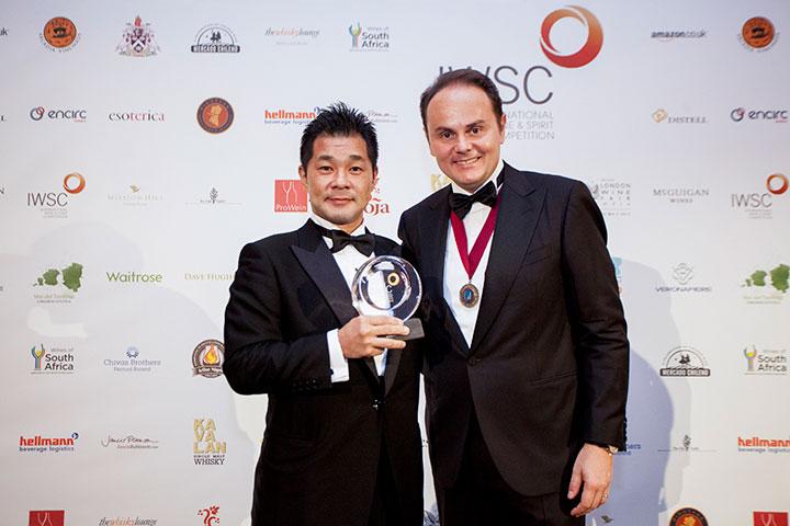 IWSC2016(インターナショナルワインアンドスピリッツコンペティション)授賞式