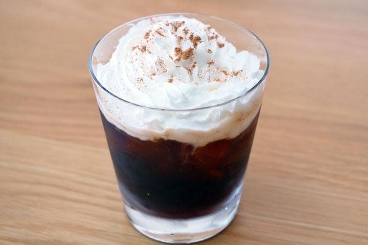 アイスウインナコーヒー風