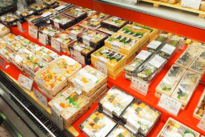 スーパーの総菜売り場
