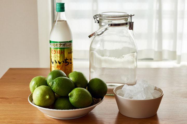 レモン酒の材料