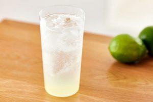 レモン酒のレモンサワー